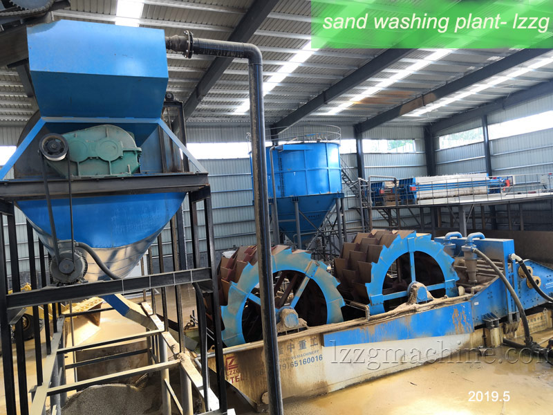bucket sand washer supplier- lzzg
