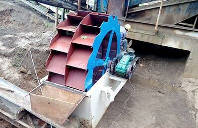 XSD Wheel Sand Washing Machine