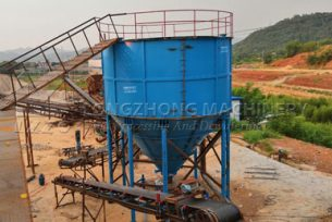 Deep Cone Thickener used in Sludge Treatment system
