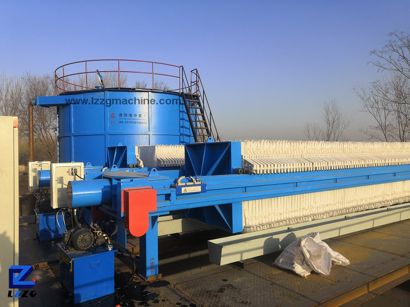 filter press and Sludge Thickening Tank