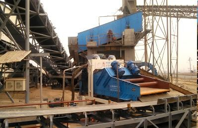 fine sand recycling machines work place