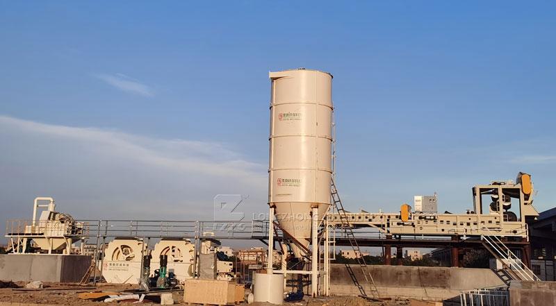 san washing waste water thicking tank