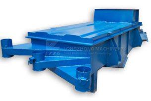vibrating screen for plastic separation