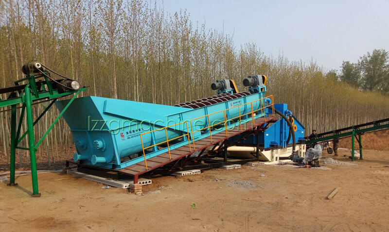 spiral sand washing machine