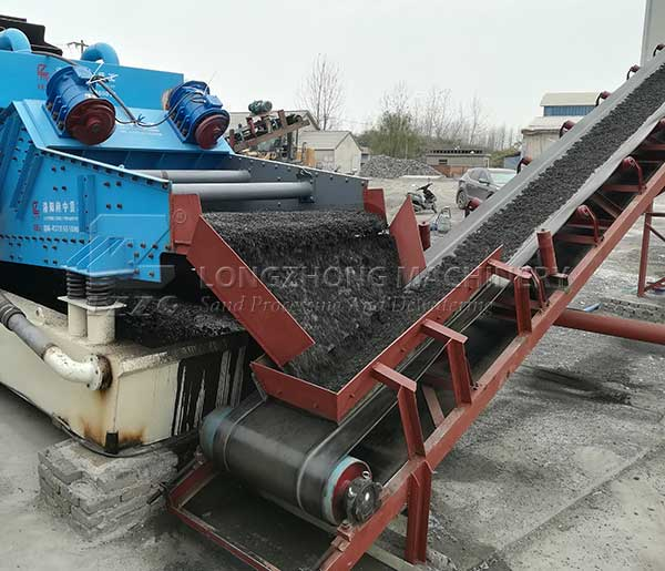 sand_dewatering_machine