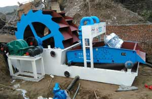Sand-washing-and-recycling-machine-customer-site