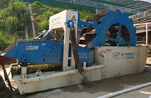 Sand washing machine in Philippines