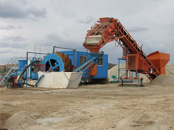 wheel wheel sand washing machine