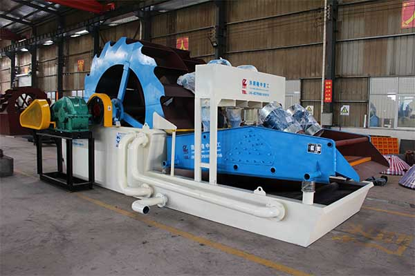 china wheel sand washing machine