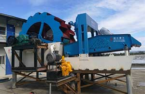 the functions of sand washing machine