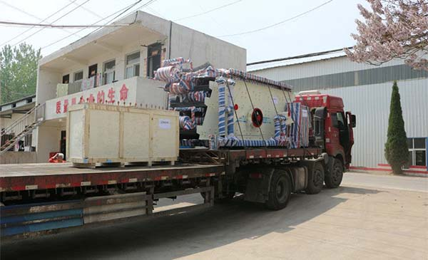 mobile circular vibrating screen