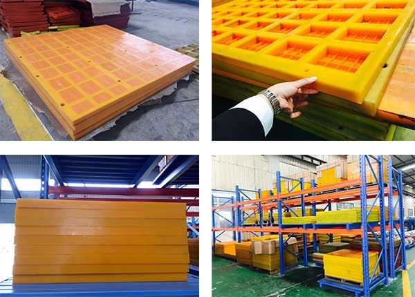 polyurethane dewatering screen plate