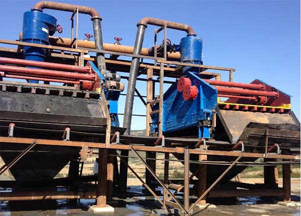 tailings dewatering screen