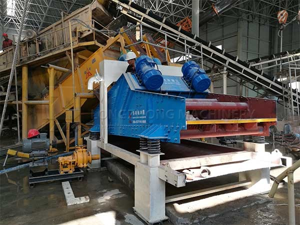 lzzg dewatering screen for sand producing line