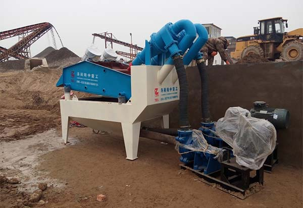 lz sand recycling machine