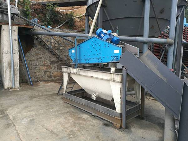 kaolin dewatering screen