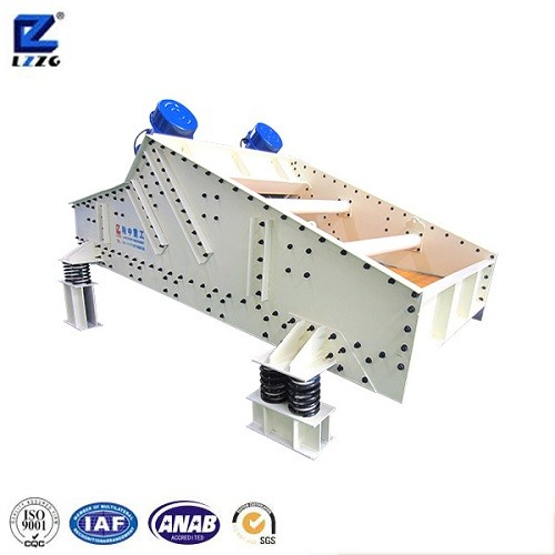 linear vibratory screen