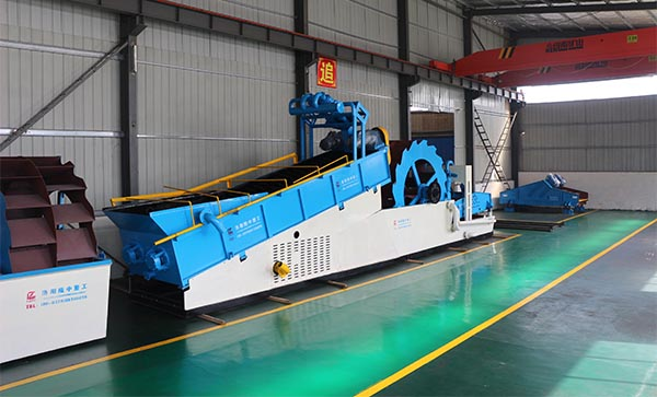 multi-functional sand washing machine in stock