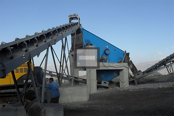 river sand dewatering screen