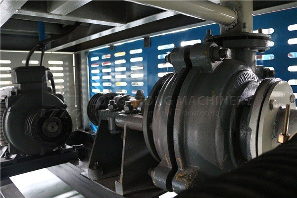 Sand washing machine reducer wear