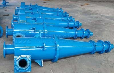 Hydrocyclone is a high efficiency separation equipment