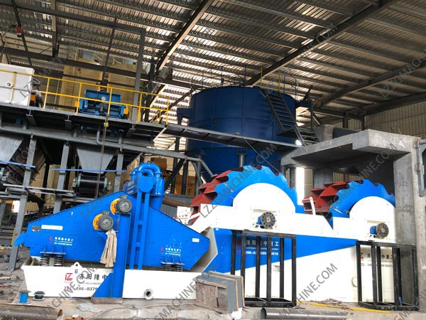 wet sand making plant