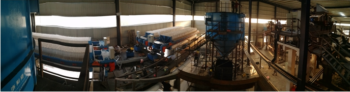 slag wet processing process and equipment