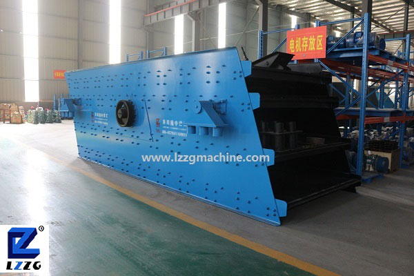 Four-layer sieve vibrating screen