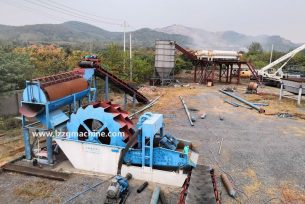 sand washing plant - China