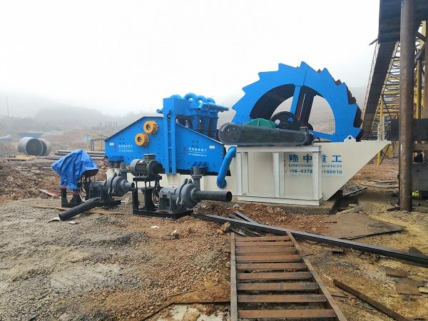 sand washing plant with fine sand recycling unit