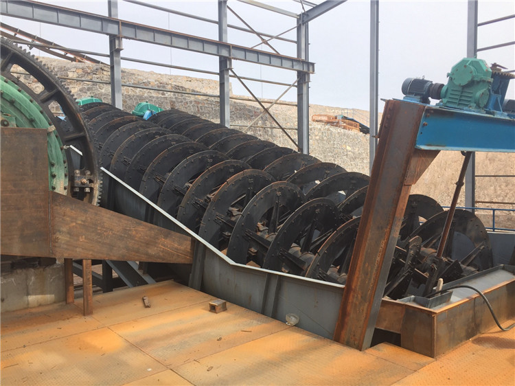 high weir screw classifier