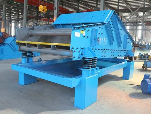 carbon dewatering screen used in carbon washing process