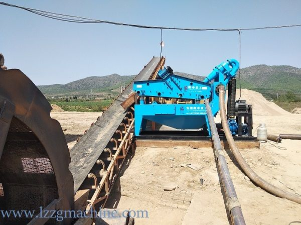 hydrocyclone compact with dewatering screen