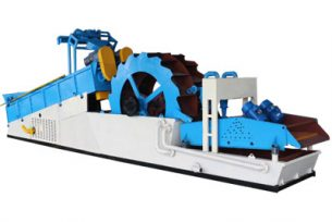 Sand washing and recycling machine