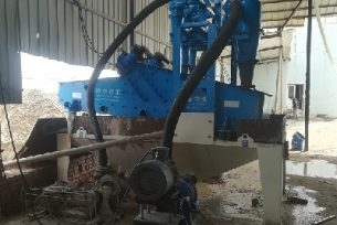 find sand recycling machine working principle
