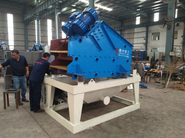 mud cleaner, mud recycling machine