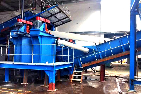 Attrition Scrubber for silica sand