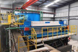 Membrane filter press