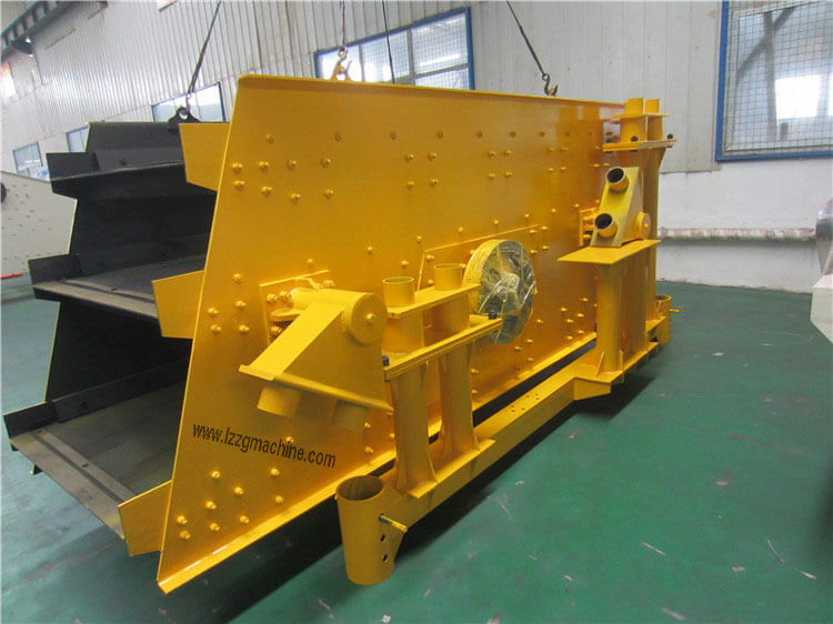 circular motion vibratory screen