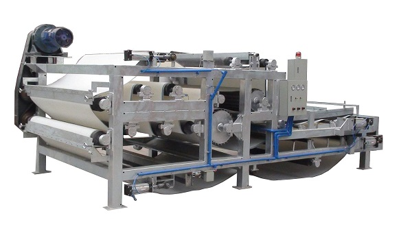 belt filter press for oil sludge dewatering