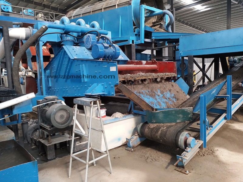 stone powder screening machine