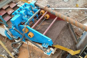 Guizhou magnetite tailings dewatering screen