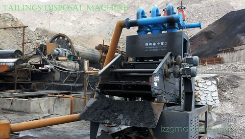 small size tailing dewatering screen
