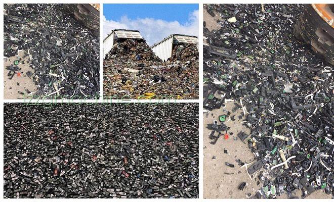 trommel for waste sorting