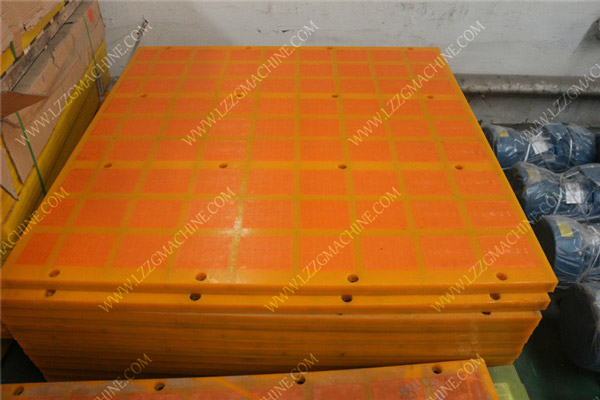 dewatering screen polyurethane panels