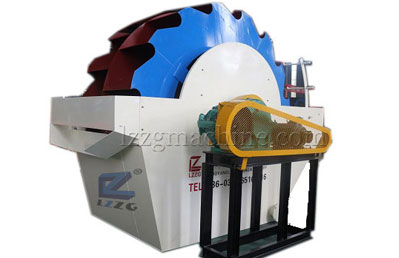 new type bucket wheel sand washer