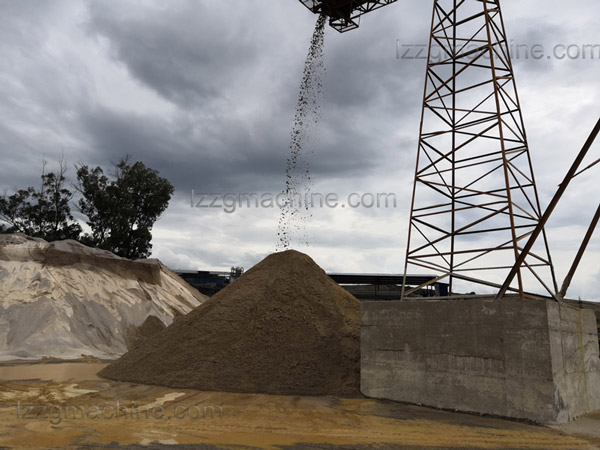washed artificial sand