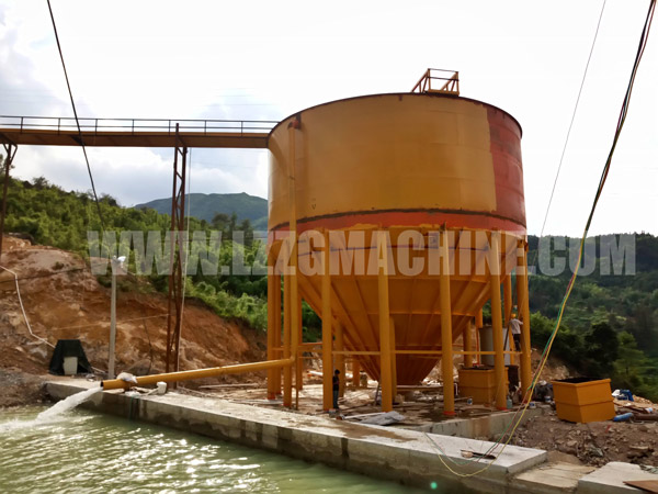 sand washing wastewater thickening tank