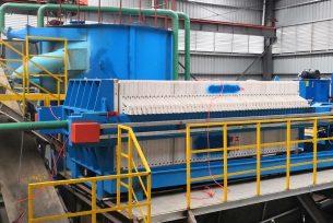 coal dewatering filter press