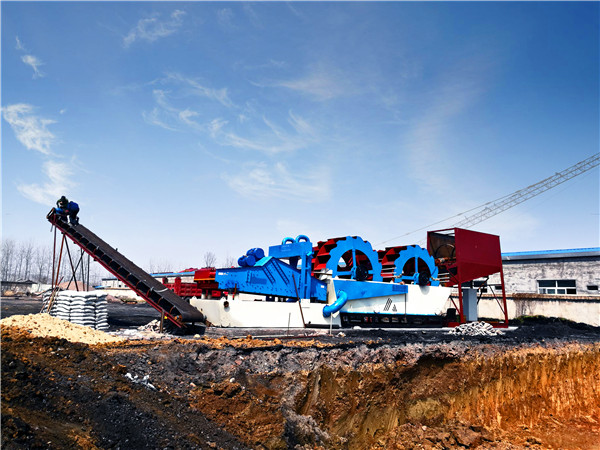 mobile sand washing plant, Truck-mounted sand washer